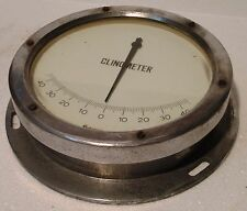 OBSERVATOR Marine LARGE Clinometer - Made in GERMANY - SHIP'S ORIGINAL