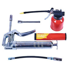 MINI GREASE GUN KIT Automotive OIL Flexible Nozzle NEW UK Amtech J2310