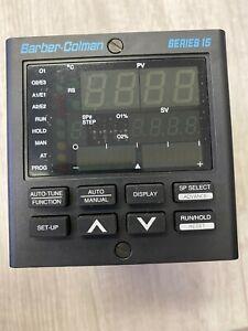 Barber Colman Series 15 Controller 20-2270, 15Q3-0KF01-000-500, Series 15Q Case.