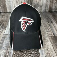 Atlanta Falcons Reebok NFL Equipment Football Hat Cap White Red Black OSFA Flex