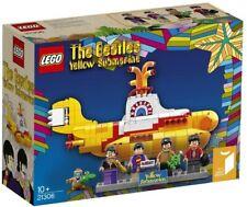 Lego Ideas 21306 The Beatles Yellow Submarine – Brand New & Sealed, Retired Set