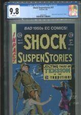 SHOCK SUSPENSTORIES 17 (1996) REPRINTS 1954 EC BEST AND ONLY CGC NM/MINT 9.8