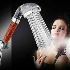 New 3-Function SPA Handheld Anion Filter Shower Head High Pressure Water Saving-
