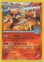 1x Blaziken - 14/111 - Promo (National Championships) NM Promo Pokemon