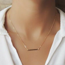 *EXTREMELY RARE* $120 14K BAR GOLD CHAIN NECKLACE ANTHROPOLOGIE BHLDN