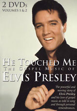 ELVIS PRESLEY He Touched Me / The Gospel Of Music DVD Region Free - PAL - 2 Disc