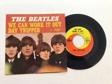 THE BEATLES-WE CAN WORK IT OUT-Capitol 5555-PS 7.0  VINYL 5.0