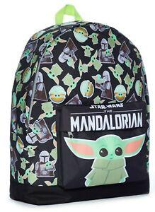 The Mandalorian School Bag, Kids Backpack, Baby Yoda Boys Backpack Star Wars