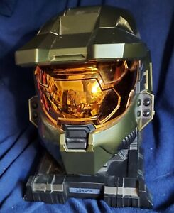 Halo 3 Legendary Edition Master Chief Helmet and Stand no game old store stock