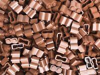 Lego Bundle caisse X 1 Treasure Chest X 1 Canon x 1 brun rougeâtre Pirates MOC