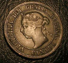Old Canadian Coins 1891 Canada Large Cent