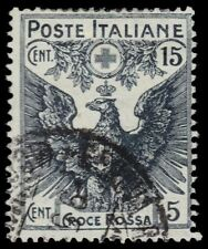 "ITALY B2 (Mi121) - Italian Red Cross Fund ""Eagle with Arms of Savoy"" (pf97447)"