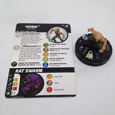 Heroclix Superior Foes of Spider-Man set Vermin #016 Common figure w/card!