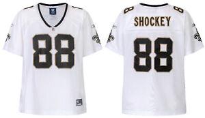NFL Ladies New Orleans Saints Jeremy Shockey White Jersey Girls Football Premier