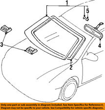 FORD OEM 98-03 Escort-Windshield Glass F8CZ6303100BA