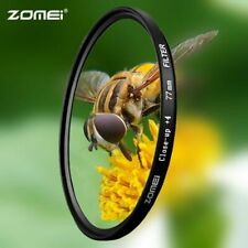 Zomei Macro Close-up Lens Filter +1 +2 +3 +4 +8 +10 Optical Glass Camera Filter