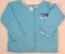 Sehr schöne Freizeitjacke dünne Babyjacke blau mit kleinem Buggermotiv Größe 68