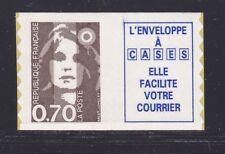 FRANCE AUTOADHESIF N°    6a ( 2873a )** MNH, vignette caractères gras, TB