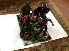 Leyendas De Marvel Monstruos Zombie Dracula Frankenstein Hombre Lobo Figuras & Comic