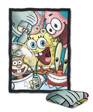 Spongebob And Friends Happy Blanket ( KIDS / MEDIUM / LARGE )