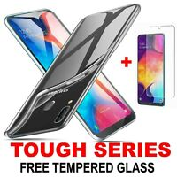 360 Case For Samsung Galaxy A10 A20e A50 A40 Ultra Slim Clear TOUGH Gel Cover