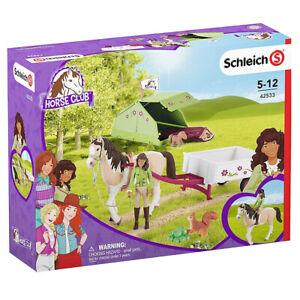 Schleich - Horse Club Sarah's Camping Adventure Playset 42533