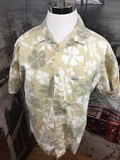 Men's Large Rare Vintage Quicksilver Country Hawaiian Shirt Throwback Surf Wear