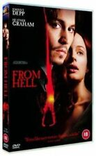 From Hell 5039036014939 With Johnny Depp DVD Region 2