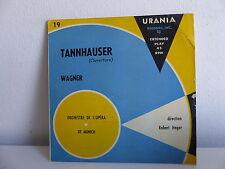 Tannhauser WAGNER Orch opéra de Munich Dir ROBERT HEGER URANIA 19 Vinyle rouge