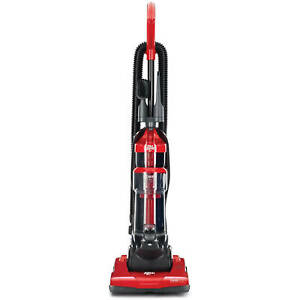 Power Express Upright Bagless Vacuum Red Lightweight Design Powerful Suction