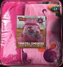 Dreamworks Trolls Reversible 2-in-1 Comforter Twin/Full New