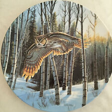 """Cynthie Fisher's """"First Light"""" Spirits of the Sky 8 inch Plate"""