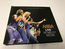 CD Double: ABBA : Live At Wembley Arena 1979 : 2 CD BOOK EX/EX [T10]