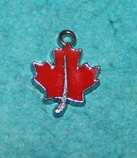Charms Leaf Charm Maple Leaf Toronto Hockey Charm Maple Leafs Charm Canada Charm