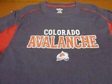 Colorado Avalanche Men's  Reebok T Shirt NHL  Hockey   Medium Tee    V9