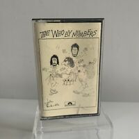 The Who - Who by Numbers Cassette Tape Polydor Red Paper Label