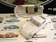 1960s Foreign Faller Porsche 911 Slot Car Body White A+
