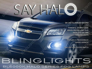 2013 2014 2015 Holden Trax LS LTZ Angel Eye Fog Lamp Halo Driving Light Kit Pair