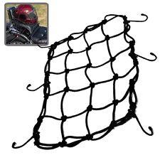 Motorcycle Cargo Net Stretch Helmet Net 15x15 Black New Biker Style