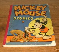 MICKEY MOUSE STORIES Book 2 Walt Disney Studios 1934
