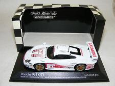 1/43 Minichamps Porsche 911 GT1 1999 British Championship car #7