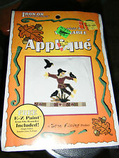 Iron-On Innovations Wearable Applique Complete Kit - Scarecrow
