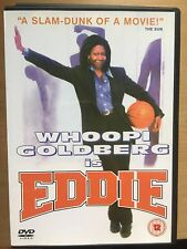 Whoopi Goldberg Frank Langella EDDIE ~ 1997 Basketball Comedy | UK DVD