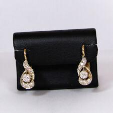 Elegante Damenohrringe (750er Gold) mit Brillanten