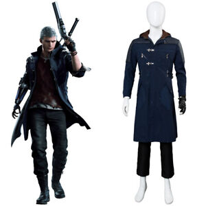 Nero DMC5 Devil May Cry V NERO Cosplay Costume Jacket Outfit