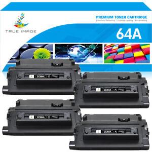 4 Pack Toner Compatible For HP 64A CC364A LaserJet P4014 P4015n P4015tn P4515x