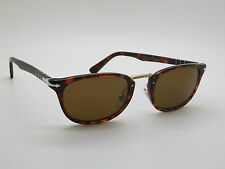 PERSOL 3127-S 24/57 Typewriter Edition Havana Tortoise Polarized 52mm Sunglasses