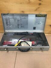 Black & Decker 6 Amp Cut Saw 3105 Sawzall Reciprocating Saw W/ Metal Case Blades