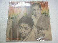 BHIMSEN JOSHI LATA MANGESHKAR BHAJNANARPAN  AALAP RARE LP CLASSICAL INDIA ex