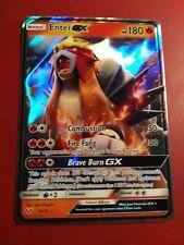 Entei GX 10/73 Shining Legends - Ultra Rare Pokemon Card Near Mint